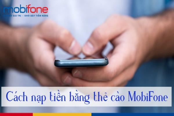 Nạp thẻ Mobifone qua Gpay nhận nhiều khuyến mãi